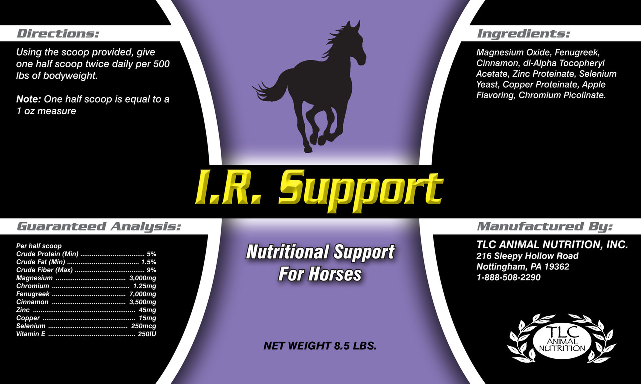 I . R. Support