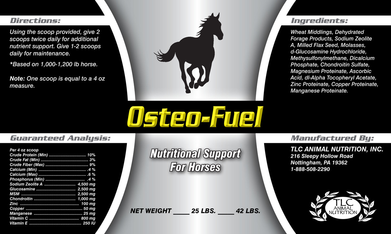 OSTEO-FUEL - Support the Collagen Aspect of  Joint Health