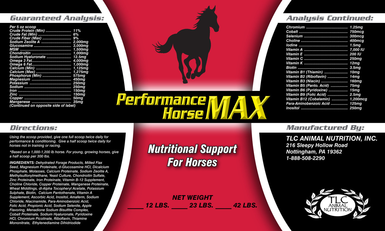 Performance Horse MAX